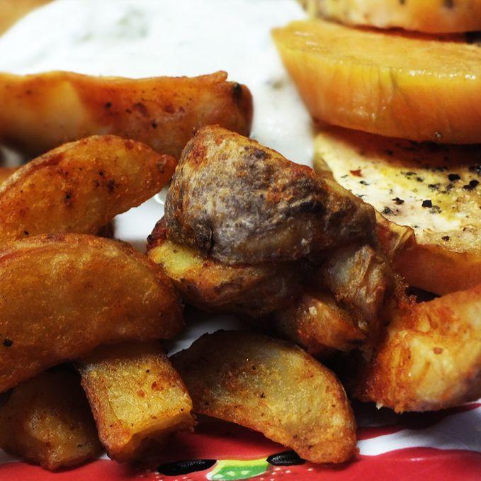 Westernkartoffel mit Tzatziki